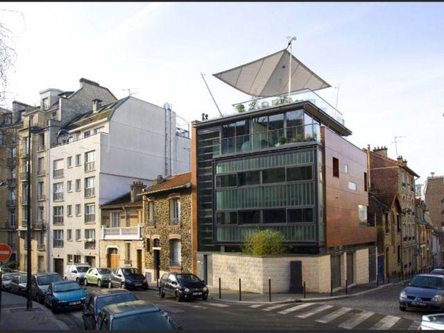 Une maison en ville - maison à paris