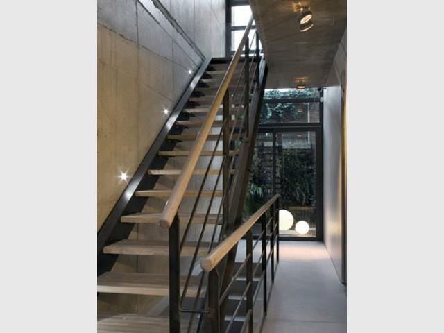 Escalier - maison à paris