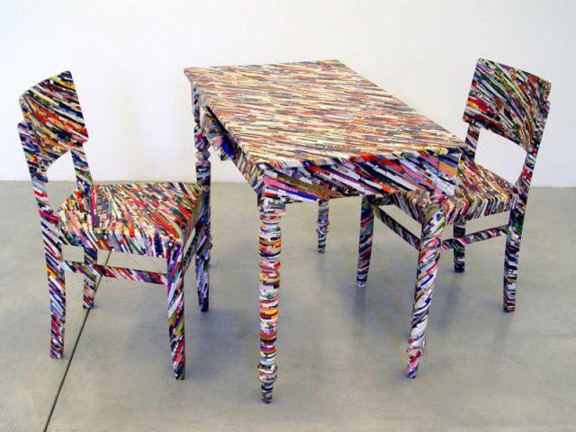 Table et chaises - Design en mouvement