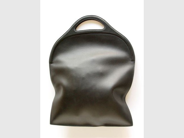 """Sac en cuir """"Pocket"""" pour Delvaux - Design en mouvement"""