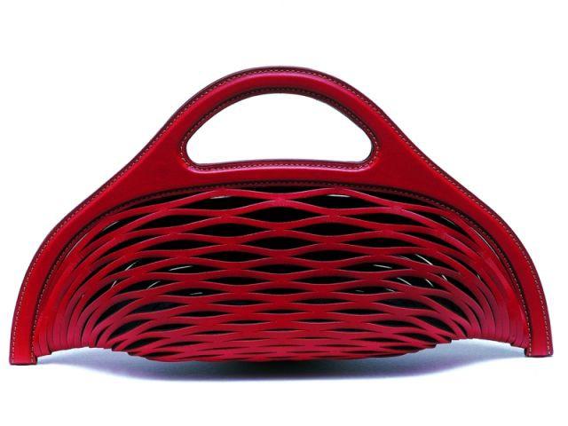 """Le sac en cuir """"Basket"""" pour Delvaux - Design en mouvement"""