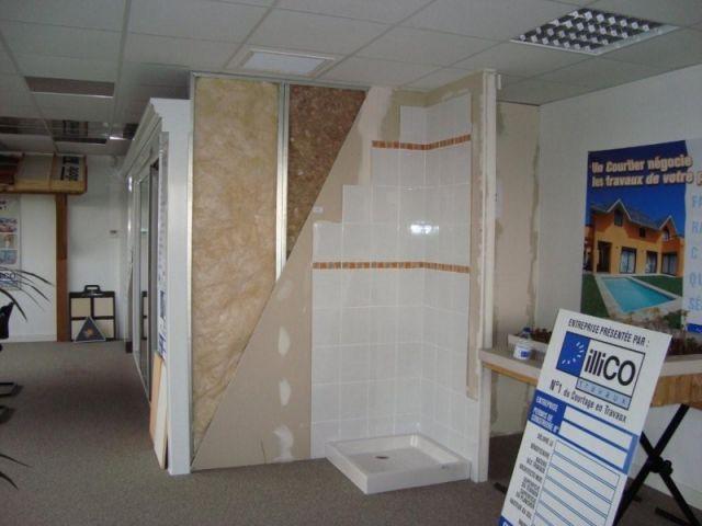 Une salle d'eau - illico travaux showroom des métiers