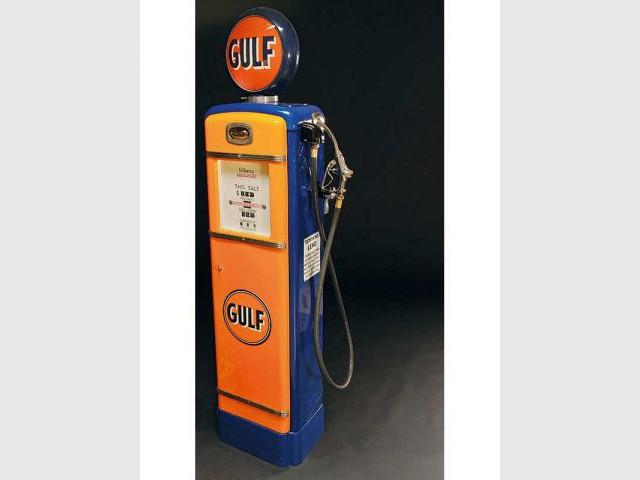 Pompe à essence GULF