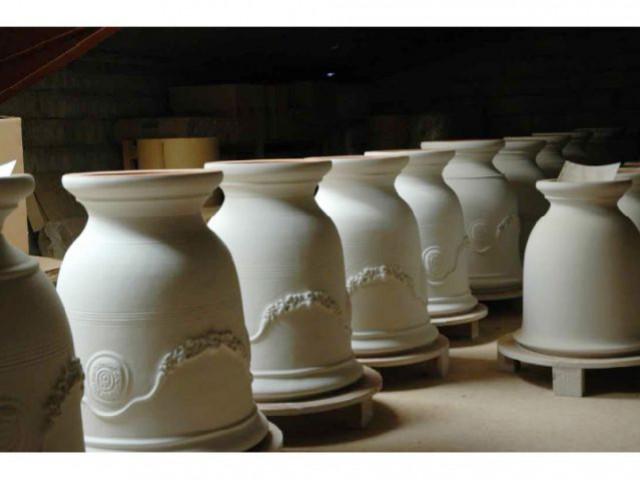 Séchage - vase anduze