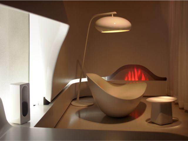 Le coin repos / détente - Chambre du futur - Patrick Jouin ID