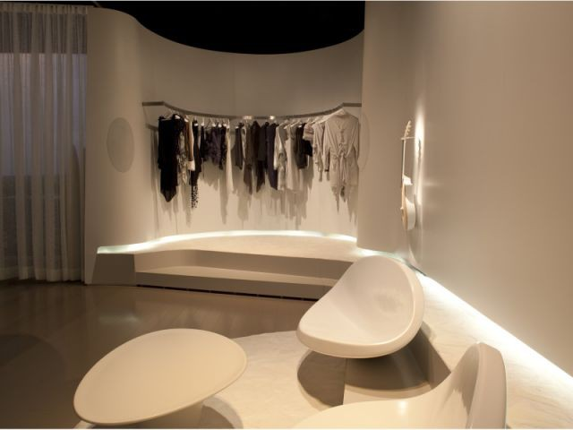 Le dressing - Chambre du futur - Patrick Jouin ID