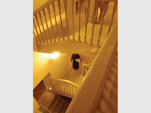 Escaliers et dédales - Hôtel Tallinn