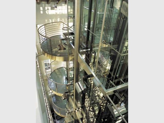 Ascenseur de verre - Hôtel Widder