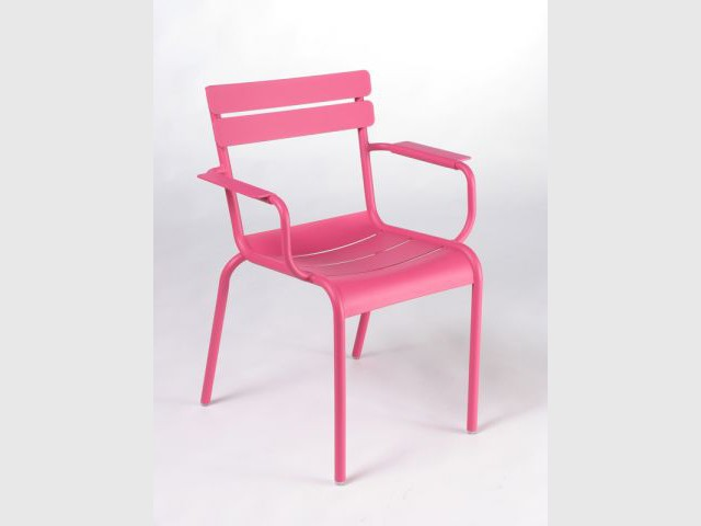 Chaise du Luxembourg rose