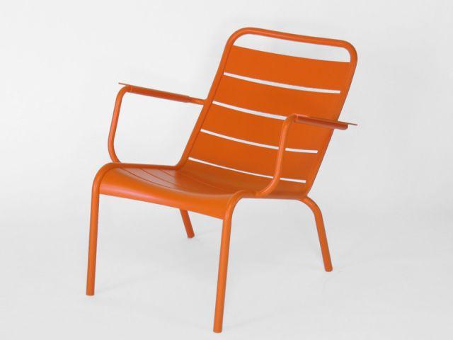 Chaise du Luxembourg orange