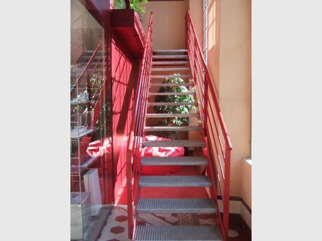 L'escalier - Agence WIN-co