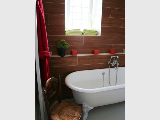 Espace détente - Arcade Studio - rénovation salle de bains