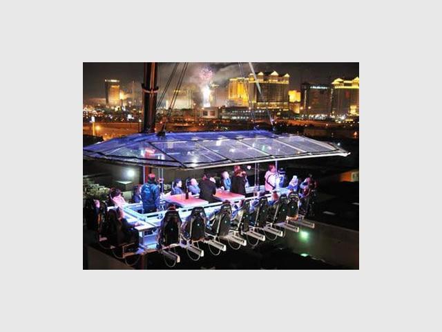 Dinner in the sky à Las Vegas - dinner in the sky