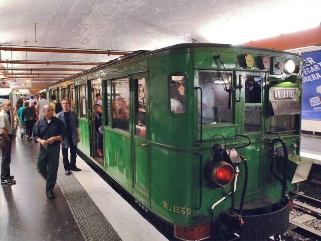 la rame Sprague métro années 30