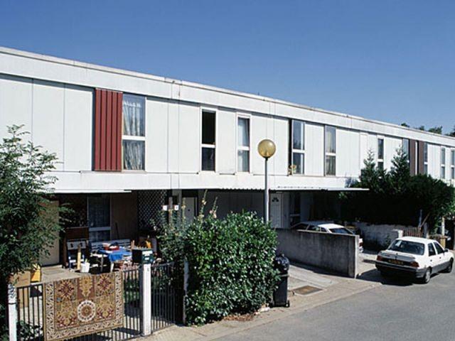 maisons individuelles réalisées par l'architecte M