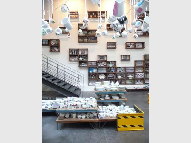 Installation éphémère - Merci - Paola Navone