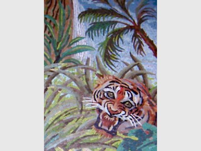Tigre mosaïque