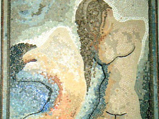 Nus mosaïque