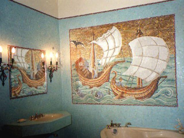 bateau mosaïque