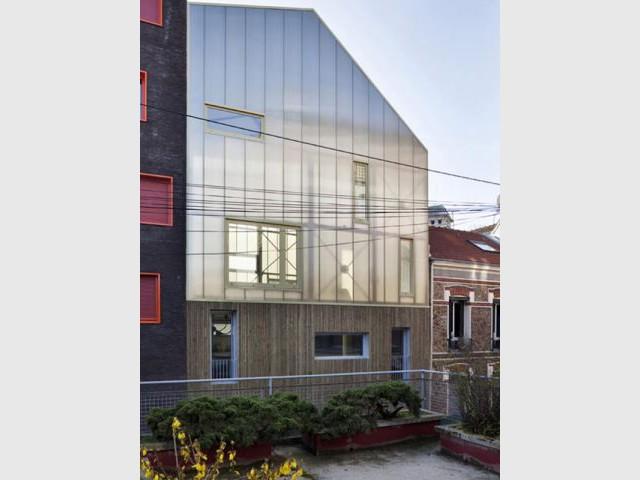 Une maison de ville - Maison trapèze