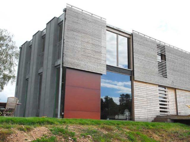 Maison d'habitation bois