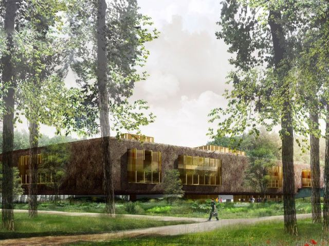 Bibliothèque univeristaire de Mane-la-Vallée