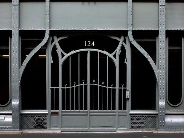Porte principale - rue Réaumur