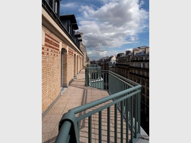 Balcon - rue réaumur
