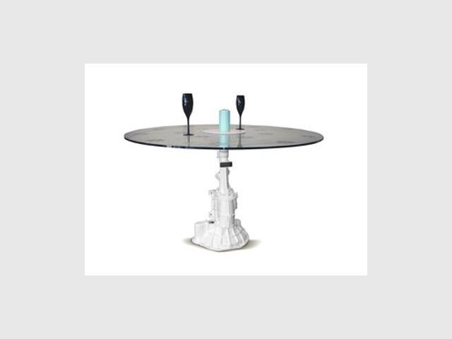 Une table qui roule…