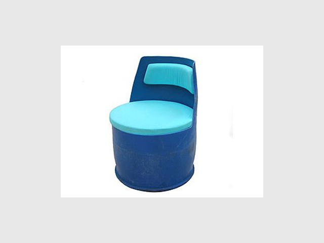 Une chaise-tambour