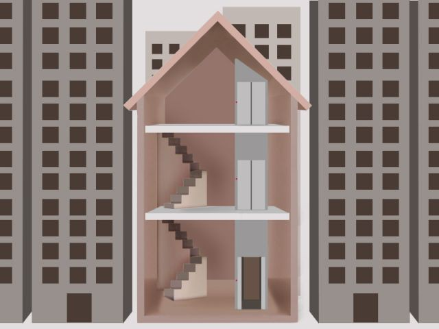 La maison verticale une nouvelle fa on d 39 habiter - Acheter une maison en sci pour y habiter ...