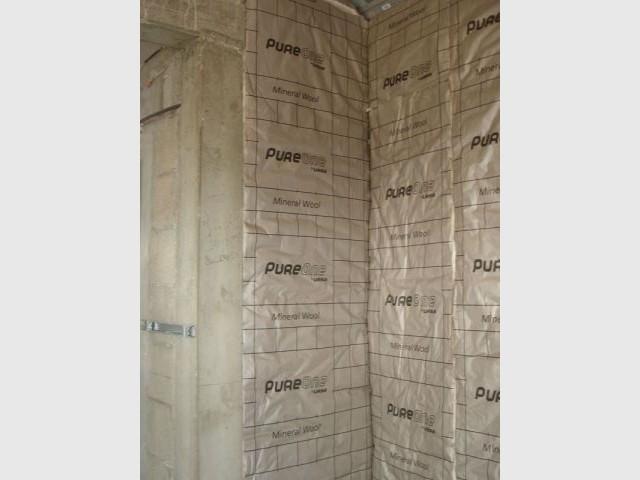 160 m2 recouverts en Pure 32 QP - ursa