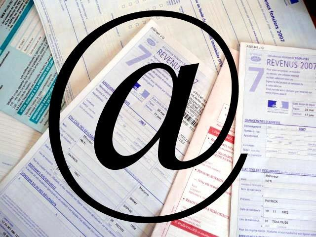 impôts e-mail