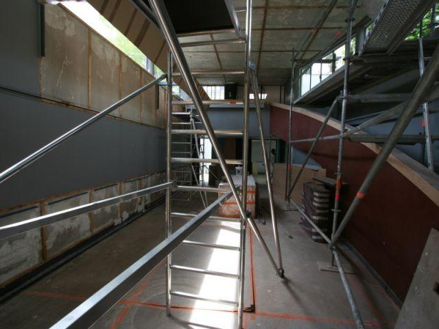 Travaux galerie - Fondation Le Corbusier
