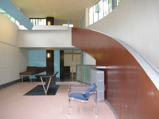 Galerie restaurée - Villa La Roche - Le Corbusier