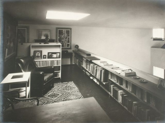 Image d'archive - Bibliothèque - Villa La Roche - Le Corbusier