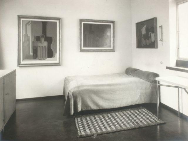 Image d'archive - Chambre Raoul La Roche - Villa La Roche - Fondation Le Corbusier