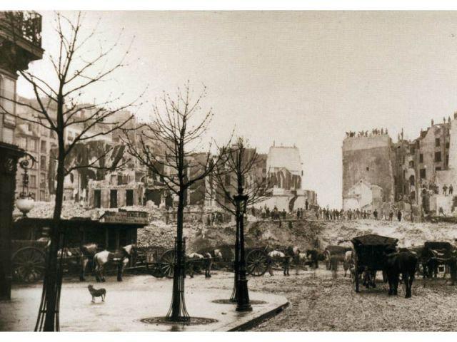 Rive droite-Opéra - Paris photographié au temps d'Haussmann