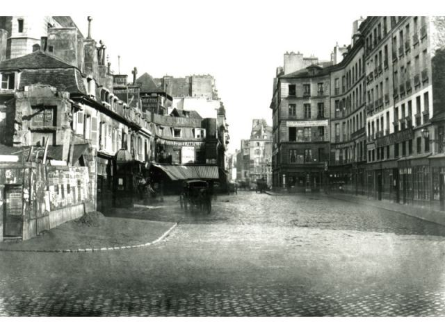 Réaumur Turbigo - Paris photographié au temps d'haussmann