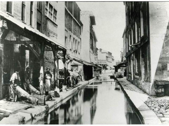 Les Tanneurs - Paris photographié au temps d'haussmann