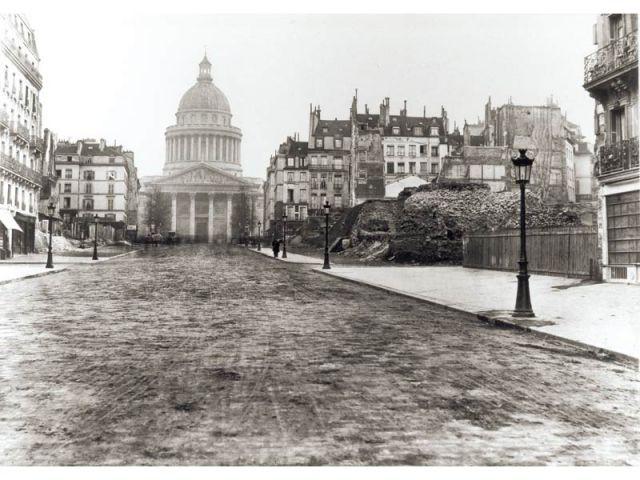 Soufflot - Paris photographié au temps d'Haussmann