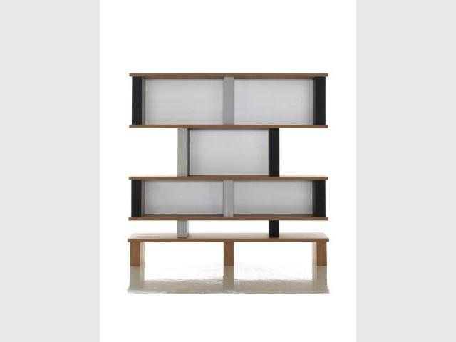 Bibliothèque Plurima, 1983 - meubles charlotte perriand