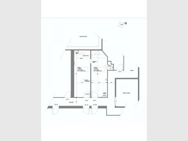 Plans existant - Alexandre Hugonnard - Atelier d'Architectures