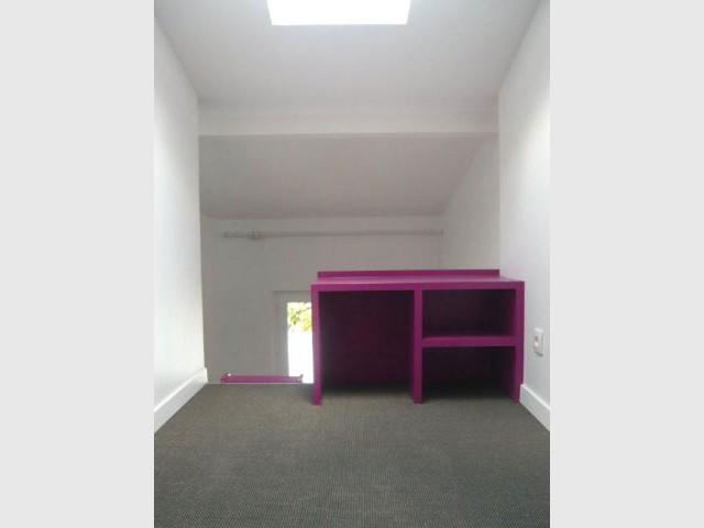 Mezzanine côté fille - Combles