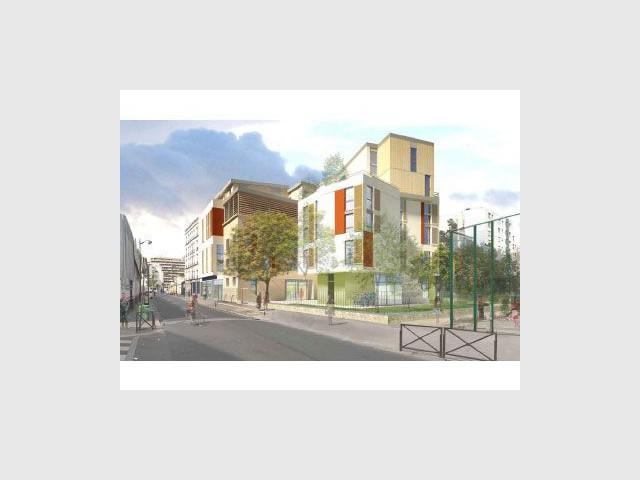 Construction d'une résidence étudiante de 90 logements - Logement étudiants