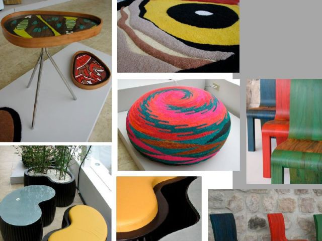 Collection ecuadorian design inspirations