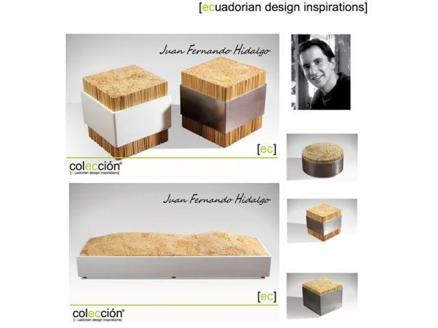 Juan Fernando Hidalgo - Coleccion ecuadorian design inspirations