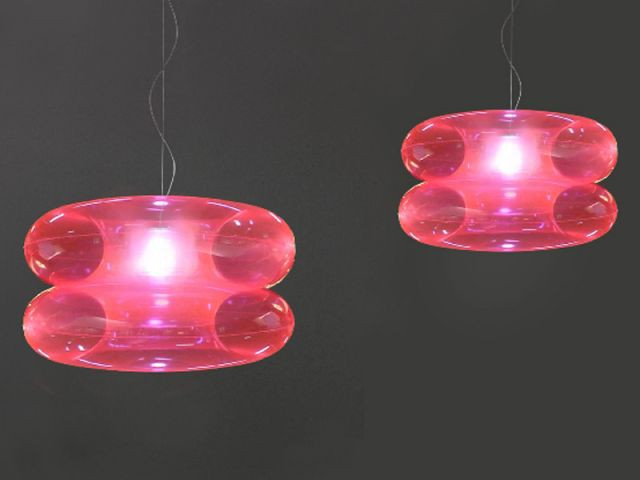 "Suspension ""Big pink"" - objets design polonais"