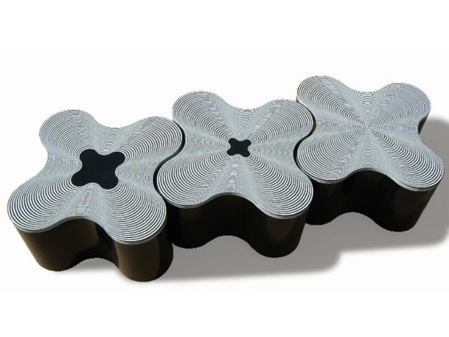 Table Black & White - objets design polonais