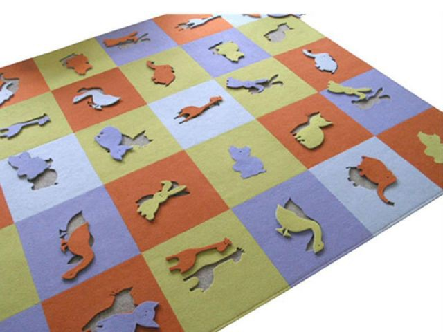 "Tapis ""Animals"" - objets design polonais"